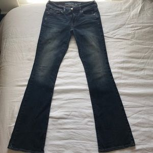 Stretch boot cut jeans. New without tags